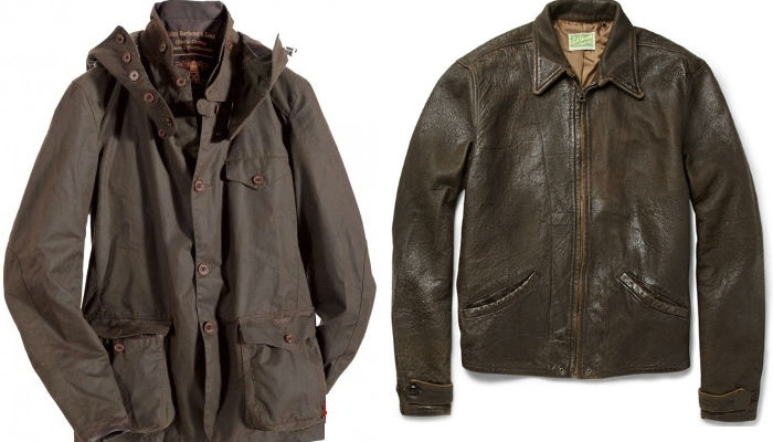 Barbour Sports Jacket— 4000 фунтов, Leather Jacket 1930s — 900 долларов