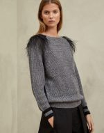 Джемпер с юбкой – Объемный свитер + юбка (подборка, street style) / Тенденции / ВТОРАЯ УЛИЦА