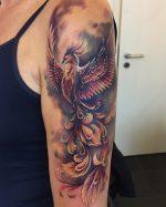 Эскиз феникса – Тату феникс — символика, значение, 24 примеров фото мужских и женских татуировок