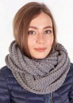 Трикотажный снуд как носить – варианты завязывания шарфа-восьмерки, шарфа-трубы или круглого на шею красиво и правильно