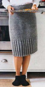 Юбка вязаная прямая – Юбки спицами Вязаные юбки спицами 19 схем и описаний вязания для женщин бесплатно